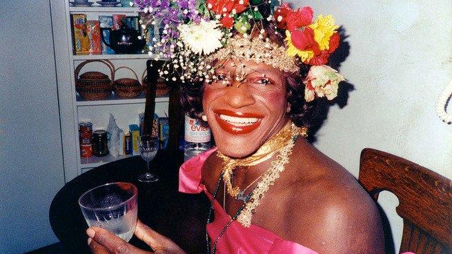 retrato de Marsha P. Johnson