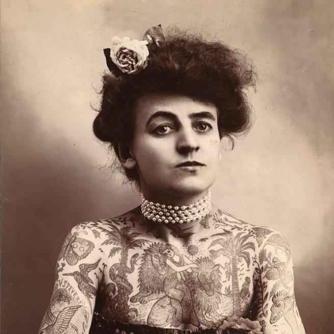 retrato de Maud stevens Wagner