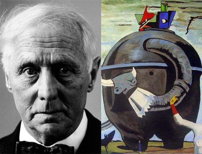 Max Ernst e parte da obra Celebes