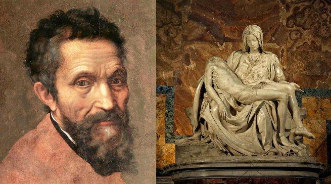 Michelangelo e Pieta
