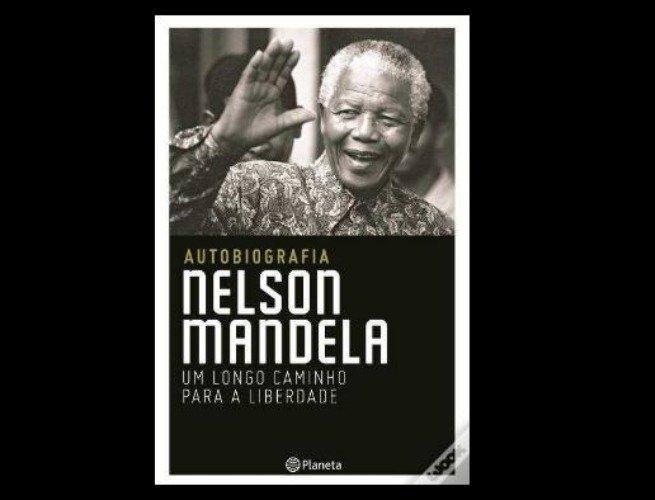 Capa da autobiografia de Mandela 'Uma Longa Caminhada até a Liberdade'