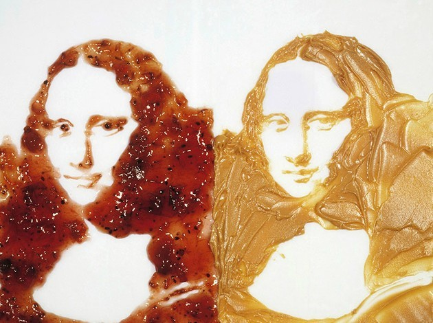 Quadro Double Mona Lisa (Peanut butter and jelly) (1999)