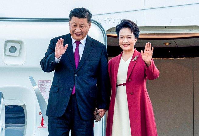 Xi Jinping e Peng Liyuan