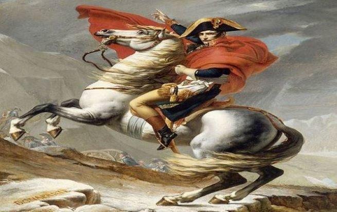 napoleão no cavalo