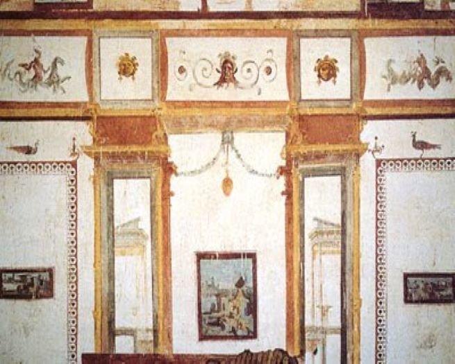 Nero - afrescos do domus aurea