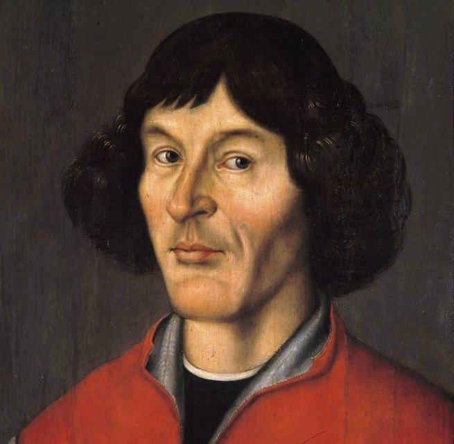 retrato de Copérnico