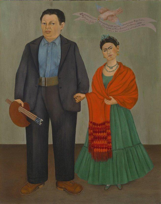 Frida and Diego Rivera, 1931,