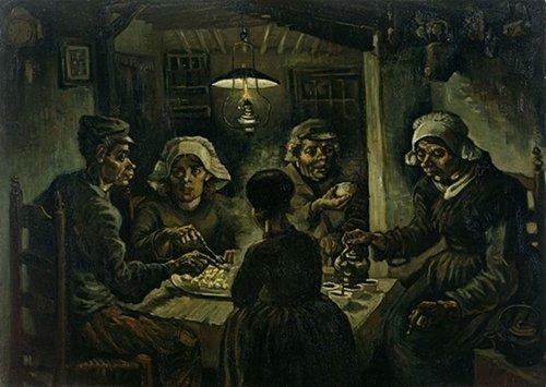 Os comedores de batatas, Van Gogh