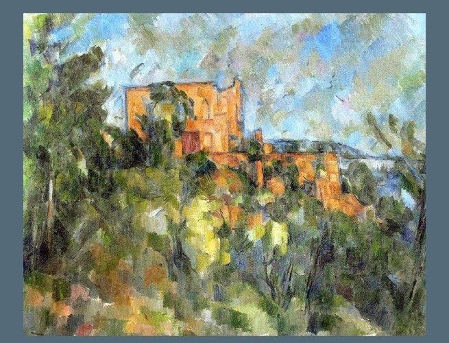 Château noir, 1903-1904 Paul cezzane