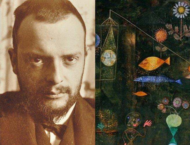 Paul Klee e parte da obra Peixe Ma?gico