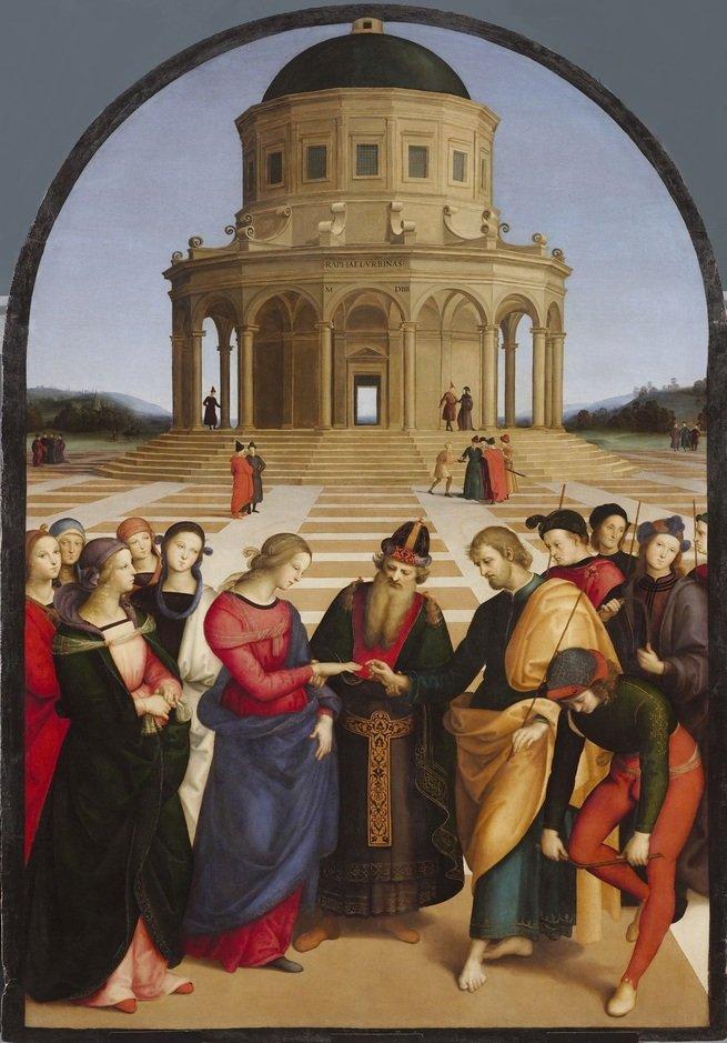Quadro Casamento da Virgem (1504)