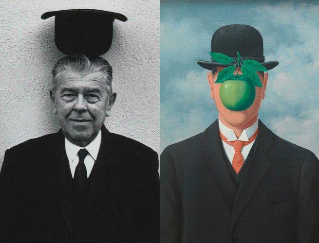 Rene? Magritte e a obra O filho do homem