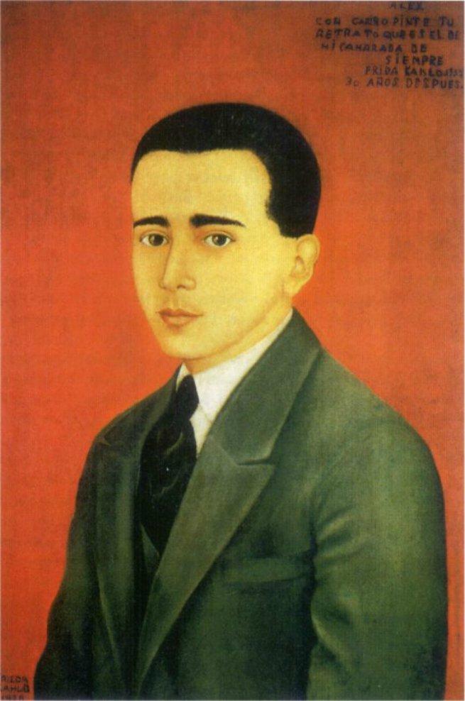 Retrato de Alejandro Gómez Arias, 1928