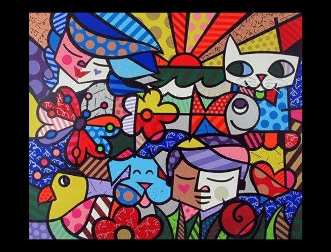 'Garden' (2000), por Romero Britto