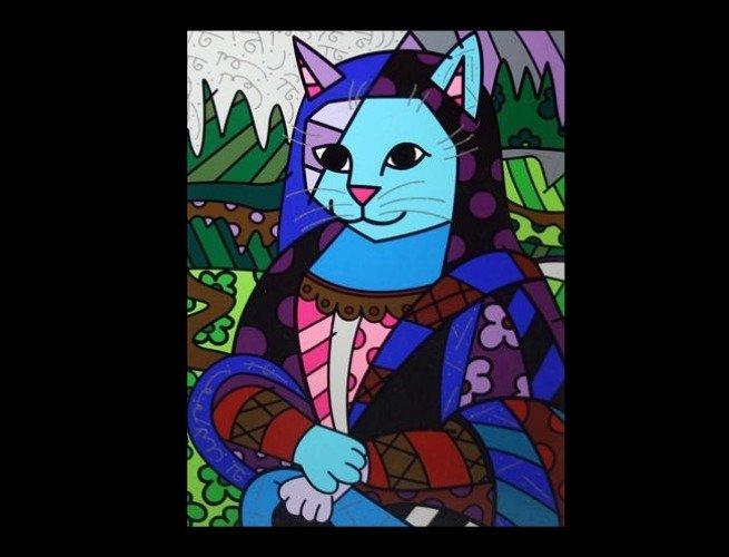 Monacat, por Romero Britto