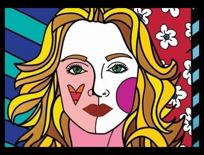 Madonna por Romero Britto