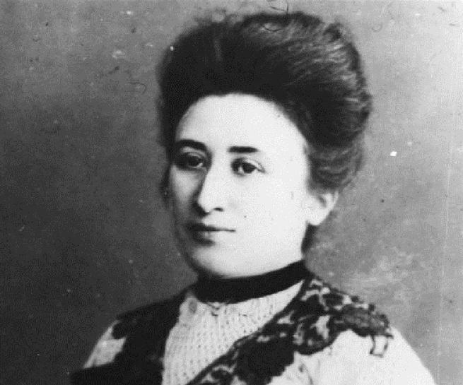 retrato de Rosa Luxemburgo