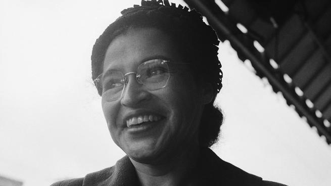Retrato de Rosa Parks