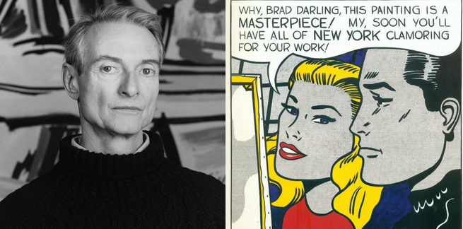 Roy Lichtenstein e Masterpiece
