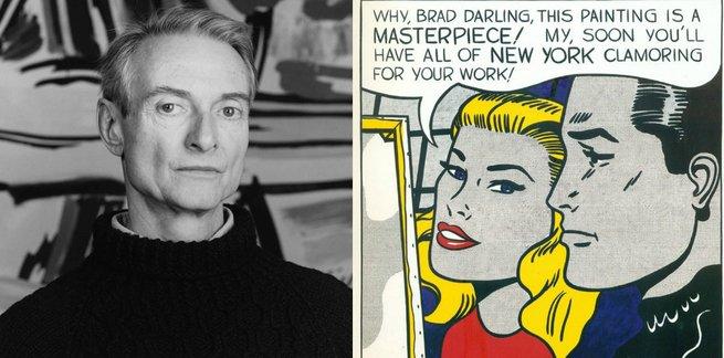 Roy Lichtenstein e Masterpiece