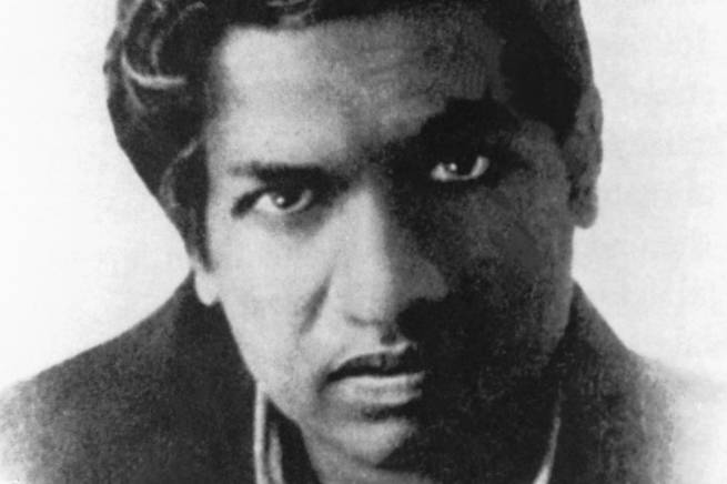 retrato de Srinivasa Ramanujan