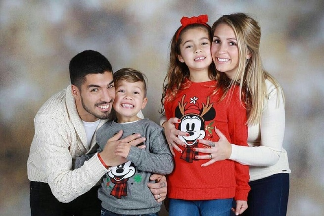 Luis Suárez família