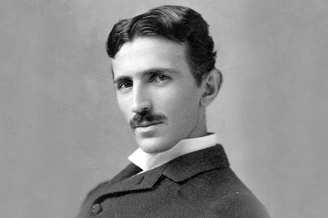 retrato de Tesla