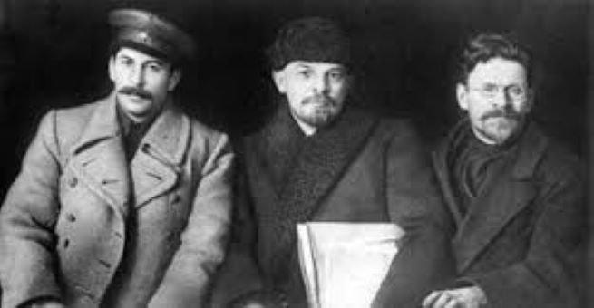 Trotsky, lenin e stalin