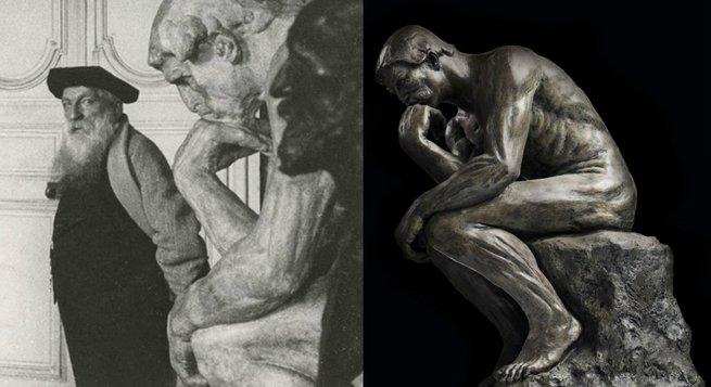 Rodin e o Pensador.