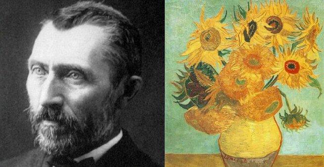 Van Gogh e Os Girassóis.