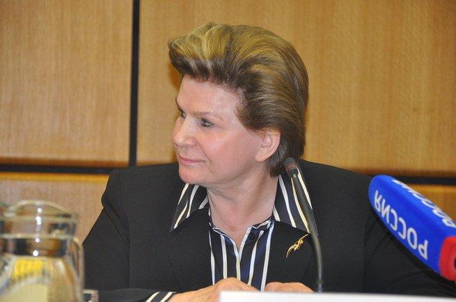 retrato de Valentina Tereshkova