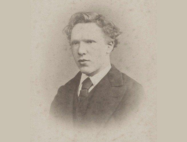 Van Gogh com cerca de 20 anos de idade