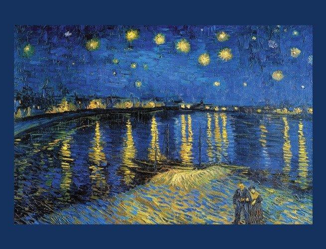 Noite Estrelada Sobre o Ródano (1888)