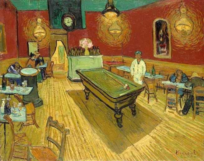 O café a noite, Van Gogh