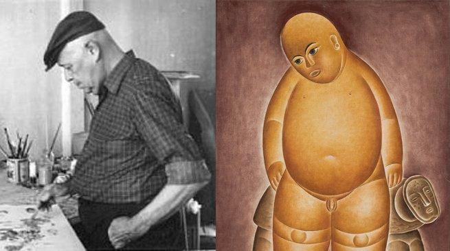 Vicente do Rego Monteiro e o quadro Menino nu e tartaruga