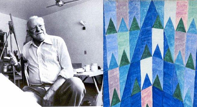 Alfredo Volpi e o quadro Bandeirinhas e ogivas