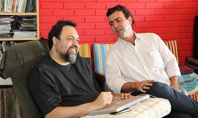 Marcelo Freixo e Marcelo Yuka se candidataram à prefeitura do Rio de Janeiro em 2012